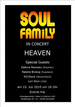 SOULFAMILY IN CONCERT - HEAVEN