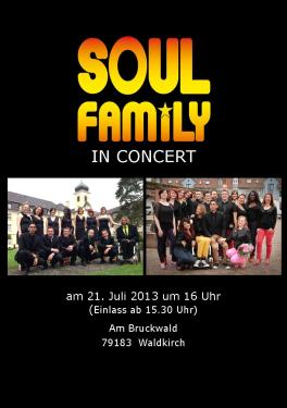 soulfamily in concert 2013